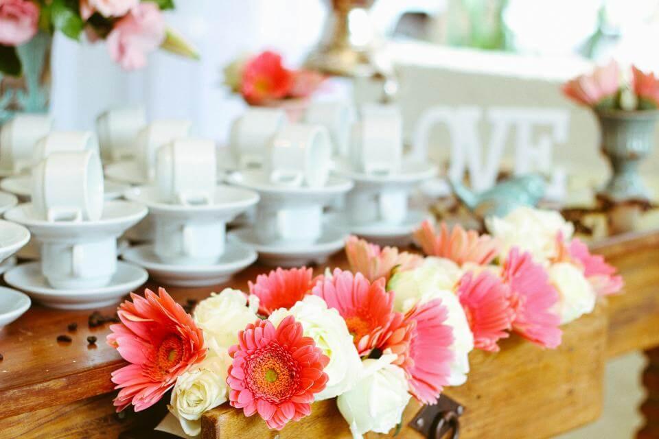 結婚式の演出で使われるお花