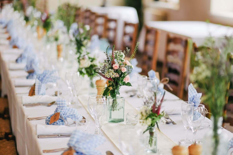 結婚式場の館内風景